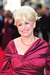 © Licensed to London News Pictures. 15/04/2012. London, England. Barbara Windsor  attends the 2012  Olivier Awards at The Royal Opera House in Covent Garden London on April 15th, England. Photo credit : ALAN ROXBOROUGH/LNP
