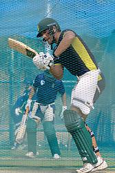 July 27, 2018 - Dambulla, Sri Lanka - South African cricketer Aiden Markram during a practice session ahead of the 1st One Day International cricket match against Sri Lanka at Rangiri Dambulla International Stadium, Dambulla, Sri Lanka on Saturday 28 July 2018  (Credit Image: © Tharaka Basnayaka/NurPhoto via ZUMA Press)