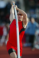 Track and Field, 28. june 2002, Golden League - Bislett Games, Oslo, Norway.  Tim Lobinger, Pole Vault.