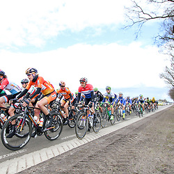 08-04-2016: Wielrennen: Energiewachttour vrouwen: Stadskanaal <br /> The third stage of the Energiewachttour for women Musselkanaal-Stadskanaal. Ellen van Dijk and Dutch Champion Lucinda Brand