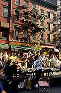 New York. flea market in the street of Greenwich village (west village)  New York  Usa /   marche dans les rues de Greenwich village - west village -  New York  USa