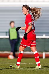Tatiana Pinto of Bristol City Women celebrates scoring a goal to make it 7-1 - Mandatory byline: Rogan Thomson/JMP - 14/02/2016 - FOOTBALL - Stoke Gifford Stadium - Bristol, England - Bristol City Women v Queens Park Rangers Ladies - SSE Women's FA Cup Third Round Proper.