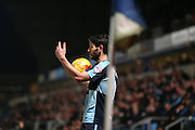 Joe Jaconbson during the Sky Bet League 2 match between Wycombe Wanderers and Burton Albion at Adams Park, High Wycombe, England on 17 November 2014.