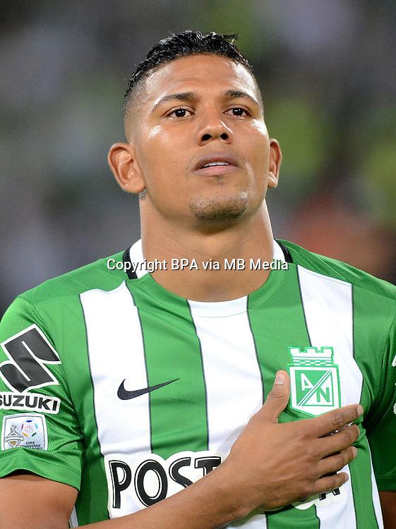Colombia League - Liga Aguila 2015-2016 - <br /> Club Atletico Nacional Medellin - Colombia / <br /> Alexander Mej&iacute;a Sabalsa