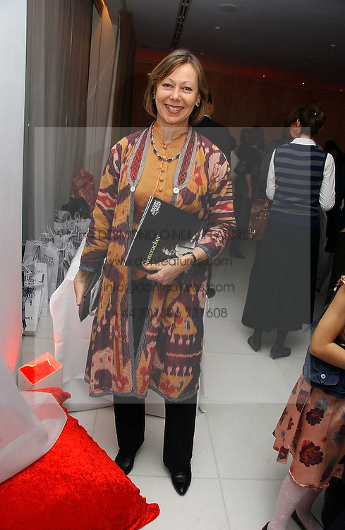 JENNY AGUTTER at the English National Ballet's Mad Hatters Tea Party at St.Martins Lane Hotel, St Martins Lane, London on 12th December 2006.<br /><br />NON EXCLUSIVE - WORLD RIGHTS