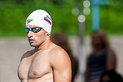 "Martin Bau of Slovenia during 43rd International Swimming meeting ""Telekom 2019"", on July 13, 2019 in Radovljica, Slovenia. Photo by Matic Klansek Velej / Sportida"