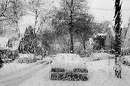 Queens street at winter