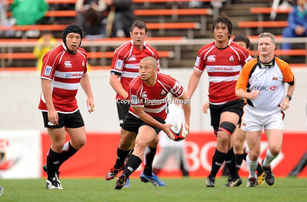 Yuki Yatomi (JPN), APRIL 25, 2009 - Rugby : HSBC Asian 5 Nations 2009 between Japan 87-10 Kazakhstan at Kintstsu Hanazono Rugby Grouns, Tokyo, Japan. (Photo by Atsushi Tomura/AFLO SPORT) [1035]