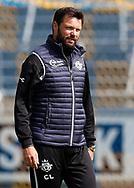 FODBOLD: Cheftræner Christian Lønstrup (FC Helsingør) før kampen i ALKA Superligaen mellem Hobro IK og FC Helsingør den 16. juli 2017 på DS Arena i Hobro. Foto: Claus Birch