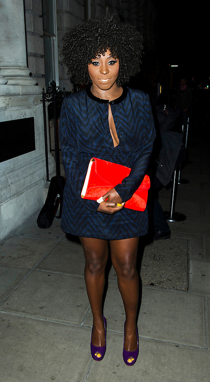 © Licensed to London News Pictures. 02/12/2013, UK. Laura Mvula , Red's Hot Women Awards cocktail party, The London EDITION hotel, London UK, 02 December 2013. Photo credit : Raimondas Kazenas/Piqtured/LNP