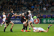 Jone Tuva and Theo Belan to LOU, James O'Connor to Sale during the European Rugby Challenge Cup, Pool 2, between Lyon OU and Sale Sharks on October 20, 2017 at Matmut stadium in Lyon, France - Photo Romain Biard / Isports / ProSportsImages / DPPI