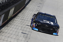 April 13, 2018 - Bristol, Tennessee, United States of America - April 13, 2018 - Bristol, Tennessee, USA: Jamie McMurray (1) bring his racecar down the backstretch during opening practice for the Food City 500 at Bristol Motor Speedway in Bristol, Tennessee. (Credit Image: © Chris Owens Asp Inc/ASP via ZUMA Wire)