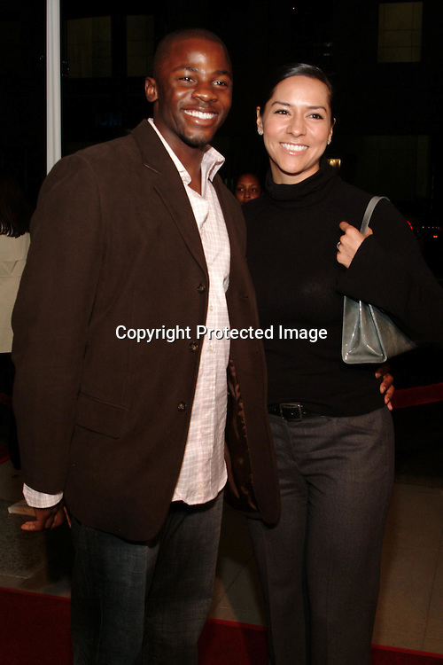 Derek Luke and Sophia Adella<br />