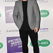 Alex Miller attend Spectacle Wearer of the Year 2018 at 8 Northumberland avenue, on 23 October 2018, London, UK.