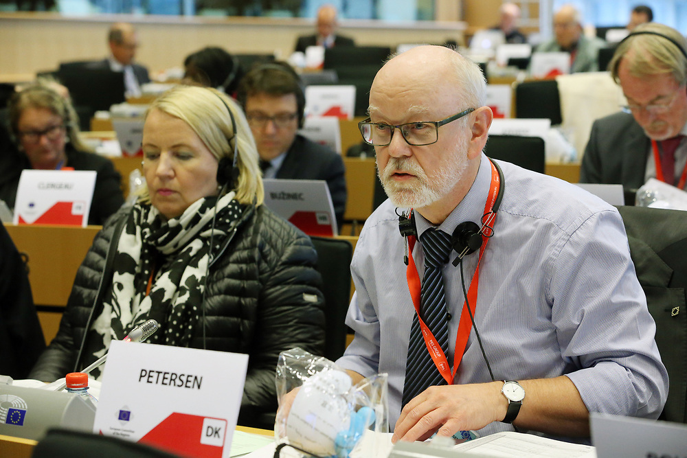 11 May 2017, 123rd Plenary Session of the European Committee of the Regions <br /> Belgium - Brussels - May 2017 <br /> <br /> PETERSEN Karsten Uno,	Regional Councillor, 	Denmark<br /> <br /> &copy; European Union / Patrick Mascart