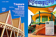 Phnom Penh architecture story for SilkRoads magazine, May 2010
