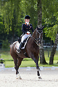 Suzanne van de Ven - Donna Gracia<br /> FEI European Championships Dressage Juniors and Young Riders 2012<br /> © DigiShots