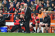 Nottingham Forest manager Mark Warburton during the EFL Sky Bet Championship match between Nottingham Forest and Reading at the City Ground, Nottingham, England on 22 April 2017. Photo by Jon Hobley.