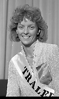 Maria O'Connor the Tralee Rose, circa August 1985 (Par of the Independent Newspapers Ireland/NLI Collection).