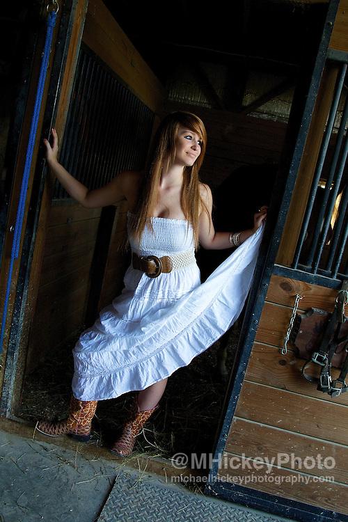 Senior photo session of Natalie Mers of Wapahani High School...Senior photography by Michael Hickey
