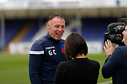 Bristol Rovers manager Graham Coughlan during the EFL Sky Bet League 1 match between Bristol Rovers and Accrington Stanley at the Memorial Stadium, Bristol, England on 7 September 2019.