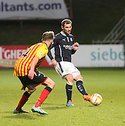 Dundee captain Kevin Thomson - Partick Thistle v Dundee - SPFL Premiership at Dens Park<br /> <br />  - &copy; David Young - www.davidyoungphoto.co.uk - email: davidyoungphoto@gmail.com