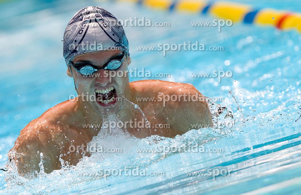 Toni Valcic of Olimpija during 10th International Swimming Competition Veronika 2011, on July 16, 2011, in Pod skalco pool, Kamnik, Slovenia. (Photo by Vid Ponikvar / Sportida)