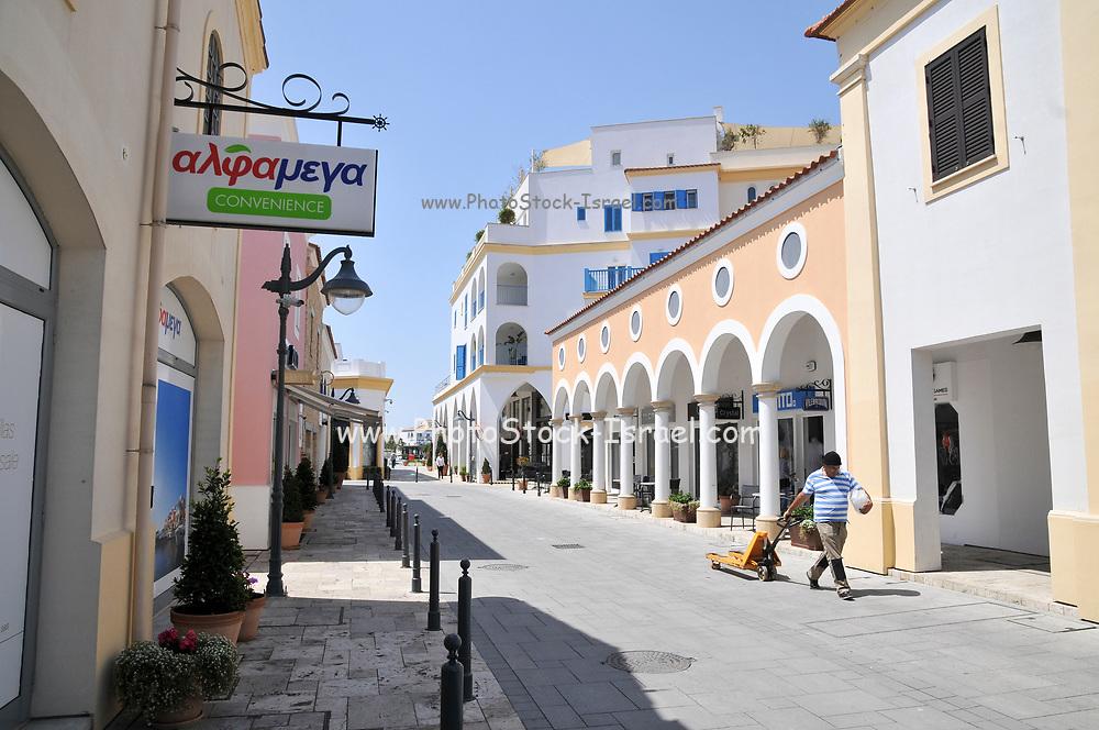 New Marina, Old Town Limassol, Cyprus