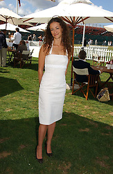 LEAH WOOD at the Cartier International polo at Guards Polo Club, Windsor Great Park, on 30th July 2006.<br /><br />NON EXCLUSIVE - WORLD RIGHTS
