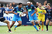 George Moala during a pre season Super Rugby match. Blues v Storm, Pakuranga Rugby Club, Auckland, New Zealand. Thursday 4 February 2016. Copyright Photo: Andrew Cornaga / www.Photosport.nz