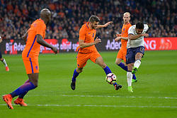 March 28, 2017 - Amsterdam, Netherlands - Eder Citadin Martins from Italy during the friendly match between Netherlands and Italy on March 28, 2017 at the Amsterdam ArenA in Amsterdam, Netherlands. (Credit Image: © Andy Astfalck/NurPhoto via ZUMA Press)