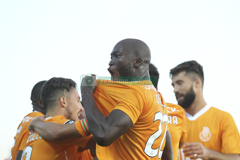 September 17, 2017 - Vila Do Conde, Vila do Conde, Portugal - Porto's Portuguese midfielder Danilo Pereira celebrate after goal from Porto's Malian forward Moussa Marega during the Premier League 2017/18 match between Rio Ave FC and FC Porto, at Rio Ave Stadium in Vila do Conde on September 17, 2017. (Credit Image: © Dpi/NurPhoto via ZUMA Press)