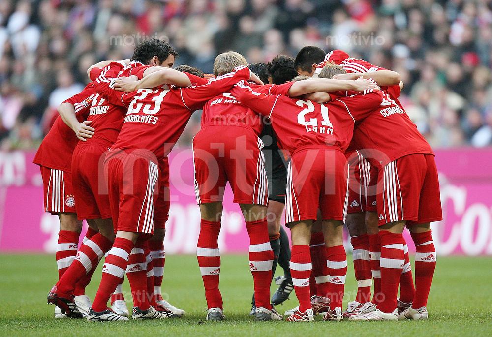 Fussball  1. Bundesliga  Saison 2006/2007 Spielerkreis FC Bayern Muenchen