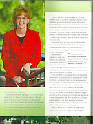 Portrait of ArcBest CEO Judy R. McReynolds for an annual report for the Fort Smith, Arkansas, based company.