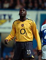 Photo: Ed Godden.<br />Portsmouth v Arsenal. The Barclays Premiership. 12/04/2006. Arsenal's Sol Campbell.
