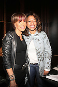 l to r: Slyvia Rhone and Danyell Smith at The Vibe Magazine Presents Vsessions Live! Hosted by the Fabulous Toccara featuring Hal Linton, Suai and Ron Browz held at Joe's Pub on February 25, 2009 in NYC