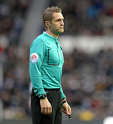 Referee Craig Pawson - Photo mandatory by-line: Alex James/JMP - Mobile: 07966 386802 - 14/02/2015 - SPORT - Football - Derby  - ipro stadium - Derby County v Reading - FA Cup - Fifth Round