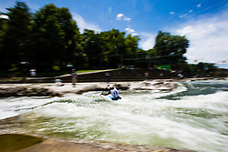 Cof Blaz during the Kayak Single (C1) Men race of Tacen Cup 2020 on May 24, 2020 in Tacen, Ljubljana, Slovenia. Photo By Grega Valancic / Sportida