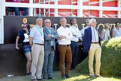 Wulff Volker, GER, Engelmann Heinrich-Hermann, GER, Becker Otto, GER<br /> Deutsches Spring- und Dressur Derby Hamburg 2017<br /> © Hippo Foto - Dirk Caremans<br /> 27-05-2017