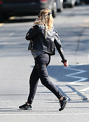 Heavily pregnant model Abbey Clancy out and about in London, UK. 07/04/2015<br />BYLINE MUST READ : GOTCHAIMAGES.COM<br /><br />Copyright by © Gotcha Images Ltd. All rights reserved.<br />Usage of this image is conditional upon the acceptance <br />of Gotcha Images Ltd, terms and conditions available at<br />www.gotchaimages.com