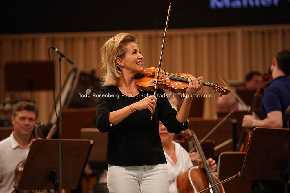 9/8/17 6:00:01 PM  Pittsburgh Symphony Orchestra 2017 European Tour.<br /> <br /> Sound Check and Concert<br /> <br /> CONCERT,<br /> Manfred Honeck, conductor<br /> Anne-Sophie Mutter, violin<br /> Enescu, Concert Overture on Romanian Themes in A<br /> major, Op. 32<br /> Dvorak, Concerto in A minor for Violin and Orchestra<br /> Mahler, Symphony No. 1 in D major<br /> <br /> &copy;&nbsp;Todd Rosenberg 2017