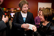 OLIVER ROWE; JENNIE BLOUET, Celebratory drinks given by  homeless charity, StreetSmart, last night at the Groucho Club in Soho, congratulating the team on the £450,000 it raised last year for the homeless nationwide.  Groucho  Club, Dean S. t. 7 April  2009