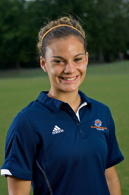 Aug 18, 2012; Morrow, GA, USA; Clayton State University's women's soccer player Brooke Bortles during team portraits. Photo by Kevin Liles/kdlphoto.com