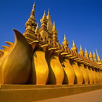 Wat That Luang Temple, Vientiane, Laos