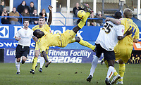 Photo: Marc Atkins.<br /> <br /> Luton Town v Preston North End. Coca Cola Championship. 02/12/2006.
