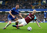 Chelsea v West Ham United 08/04/2018
