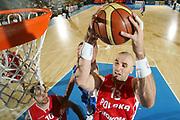 DESCRIZIONE : Bormio Torneo Internazionale Maschile Diego Gianatti Israele Polonia <br /> GIOCATORE : Marcin Gortat <br /> SQUADRA : Polonia Poland <br /> EVENTO : Raduno Collegiale Nazionale Maschile <br /> GARA : Israele Polonia Israel Poland <br /> DATA : 02/08/2008 <br /> CATEGORIA : Rimbalzo Special <br /> SPORT : Pallacanestro <br /> AUTORE : Agenzia Ciamillo-Castoria/S.Silvestri <br /> Galleria : Fip Nazionali 2008 <br /> Fotonotizia : Bormio Torneo Internazionale Maschile Diego Gianatti Israele Polonia <br /> Predefinita :