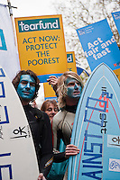 Over 20,000 protesters gathered in London to urge the UK government to take action on climate change, prior to the COP15 United Nations Climate Change Conference in Copenhagen, Denmark.