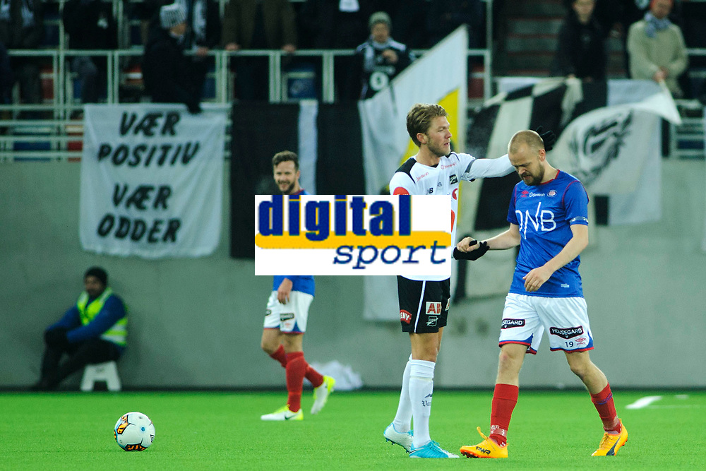 Fotball, Eliteserien <br /> 19.10.17 , 20171019<br /> Vålerenga - Odd<br /> Vålerengas Christian Grindheim ble byttet ut til applaus i det 82. minutt.<br /> Foto: Sjur Stølen / Digitalsport
