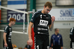 20181124 NED: Volleyball Top League ZVH - VCV: Zevenhuizen<br />Sander van Doorn (1) of MKB Accountants VCV <br />©2018-FotoHoogendoorn.nl / Pim Waslander